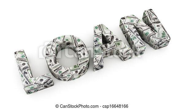 ローン, ドル - csp16648166