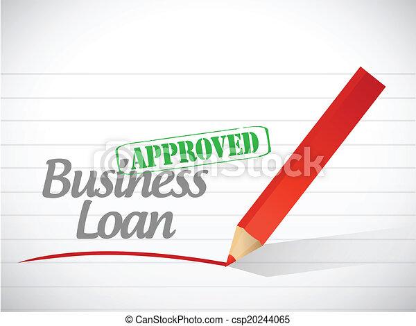 ローン, メッセージ, ビジネス, 公認 - csp20244065