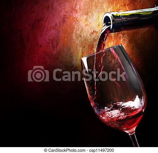 ワイン - csp11497200