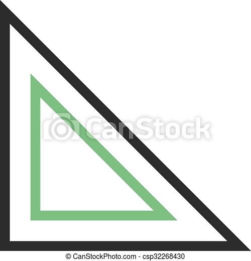 三角定規 ありなさい 使われた 広場 Image アイコン 網 セット