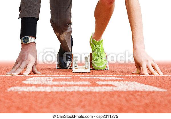 上, スポーツ, ビジネス - csp2311275