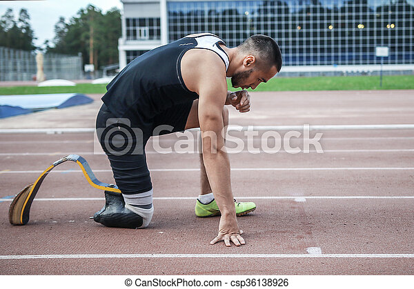 不具, 始めなさい, 運動選手, 爆発物 - csp36138926
