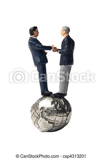 世界的である, 中小企業, 協力 - csp4313201