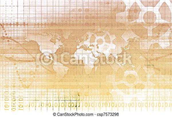 世界的である, 協力 - csp7573298