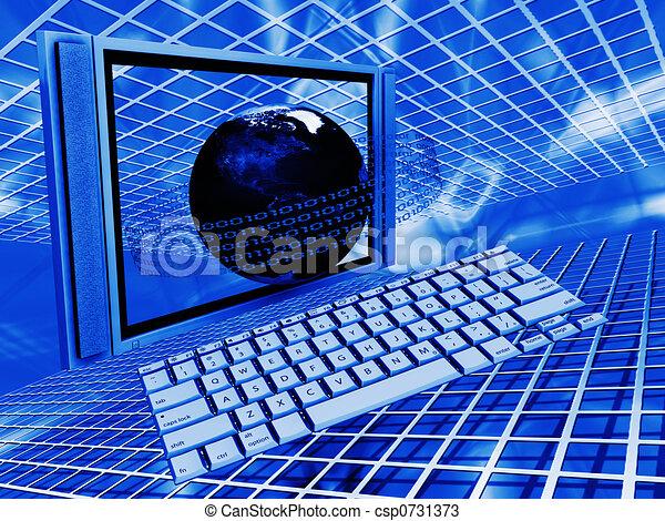世界的である, 技術 - csp0731373