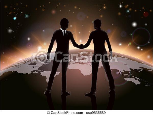 世界的である, 概念, ビジネス - csp9536689