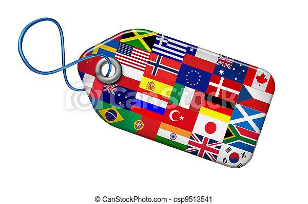 世界的である, 概念, 市場 - csp9513541