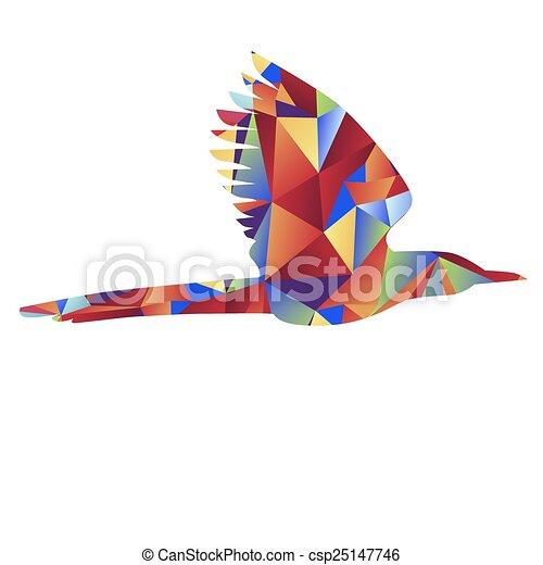 世界的である, 鳥, アイコン - csp25147746