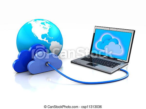 世界的なネットワーク - csp11313036