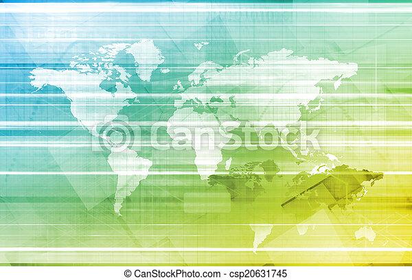 世界的なネットワーク - csp20631745