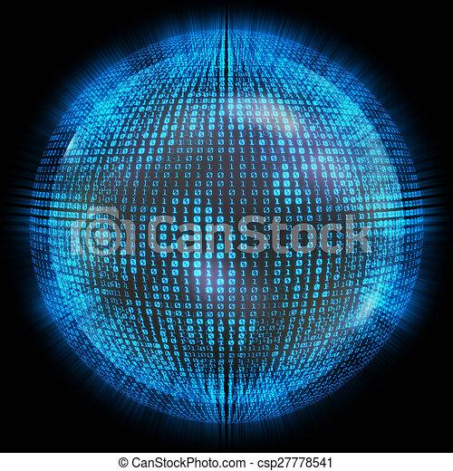 世界的なネットワーク - csp27778541