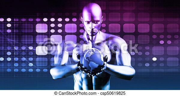 世界的なネットワーク - csp50619825