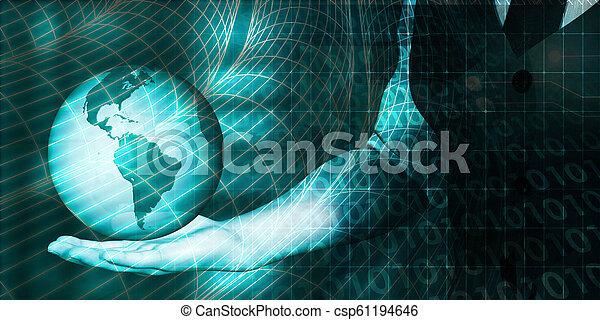 世界的なネットワーク - csp61194646