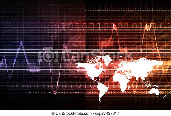 世界的なネットワーク - csp27437617