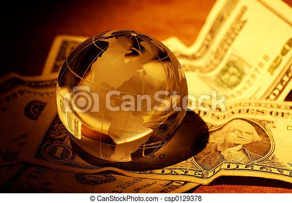 世界的な金融 - csp0129378
