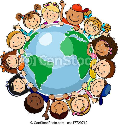 世界, すべて, 合併した - csp17729719