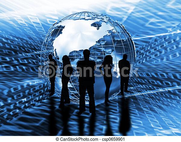 世界, 取引 - csp0659901