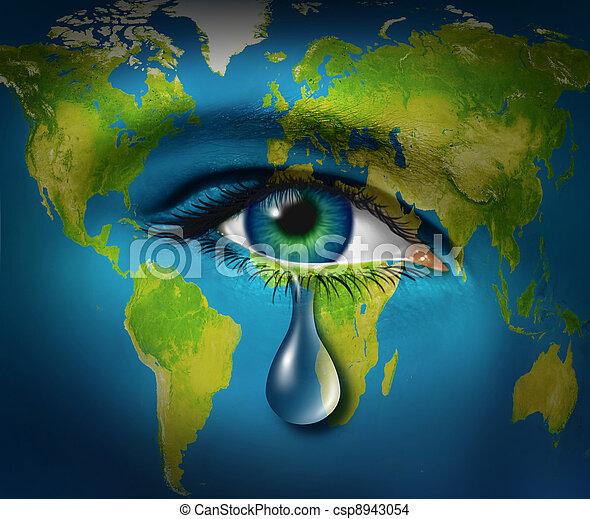世界, 窮乏 - csp8943054