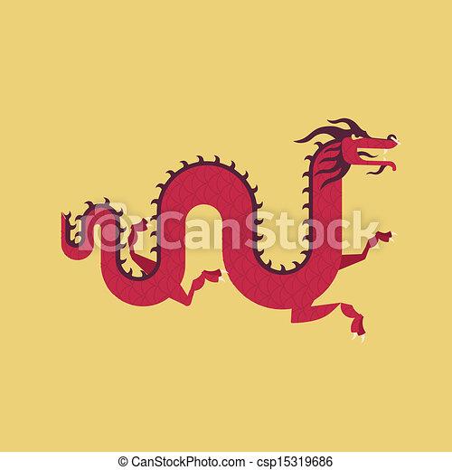 中国のドラゴン - csp15319686