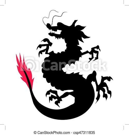 中国のドラゴン - csp47311835