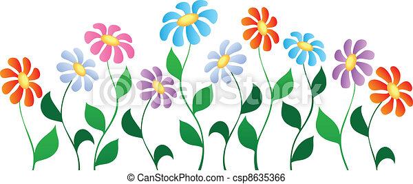 主題, 花, イメージ, 3 - csp8635366