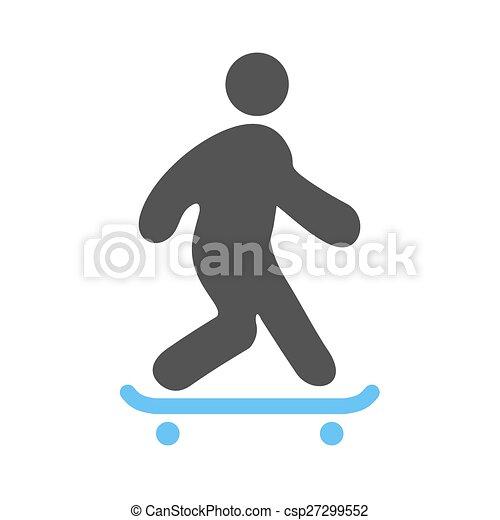乗ること, スケート - csp27299552
