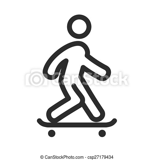 乗ること, スケート - csp27179434