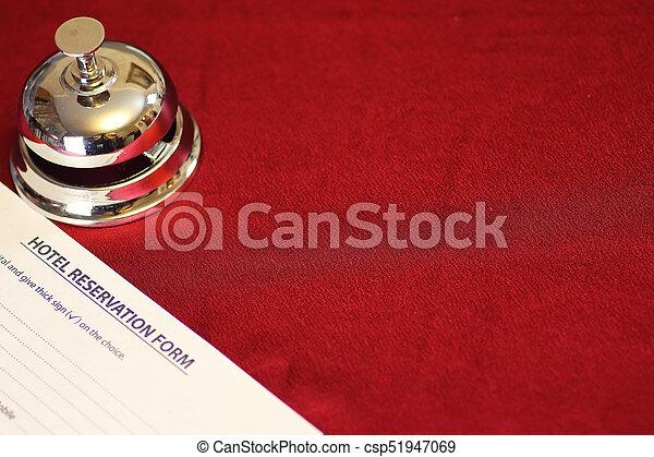 予約, ホテルの部屋 - csp51947069