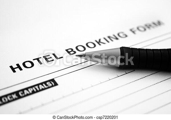 予約, ホテル, 形態 - csp7220201