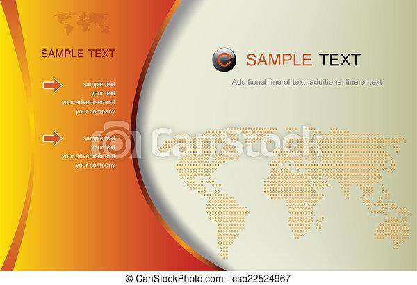 事務, 摘要, 插圖, 背景, -, 矢量 - csp22524967