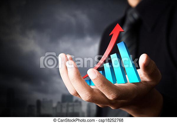事務, growth. - csp18252768