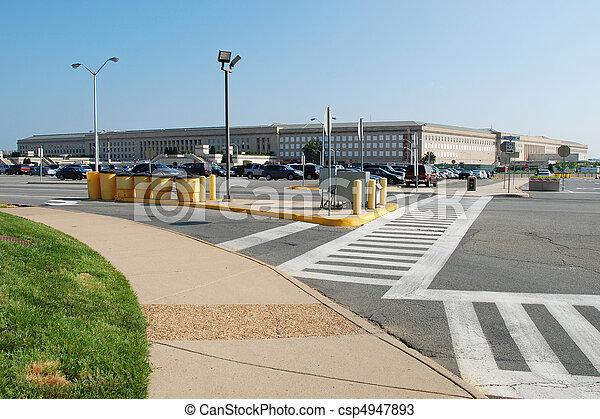 五角大樓, 建築物 - csp4947893