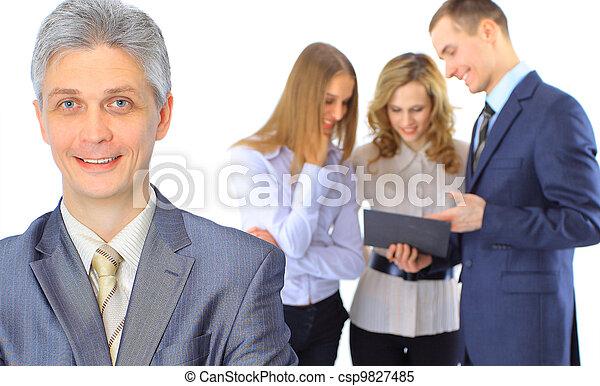 人々ビジネス, グループ - csp9827485