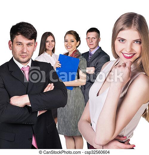 人々ビジネス, グループ - csp32560604