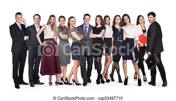 人々ビジネス, グループ - csp33497710