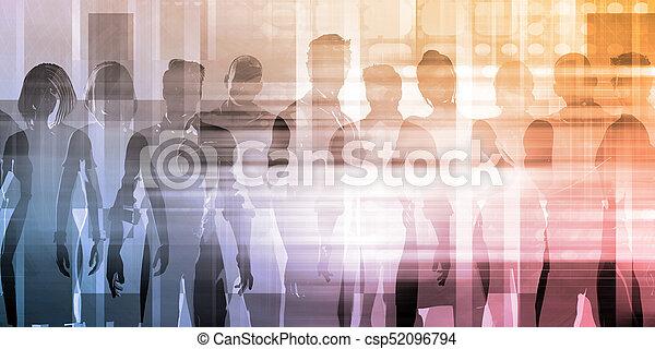 人々ビジネス, チーム - csp52096794