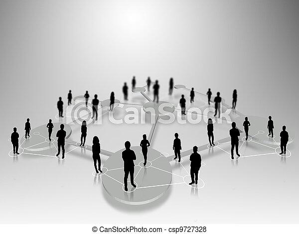 人々ビジネス, チーム - csp9727328