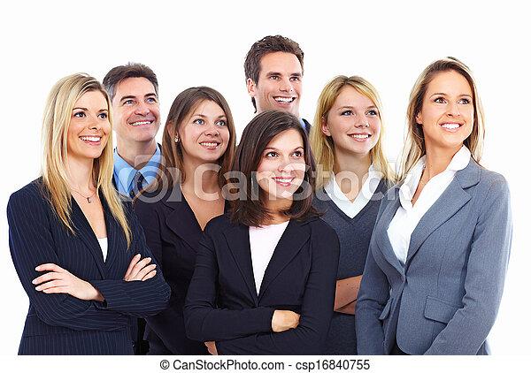 人々。, グループ, ビジネス - csp16840755
