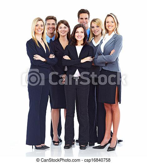人々。, グループ, ビジネス - csp16840758