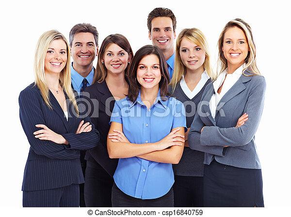 人々。, グループ, ビジネス - csp16840759