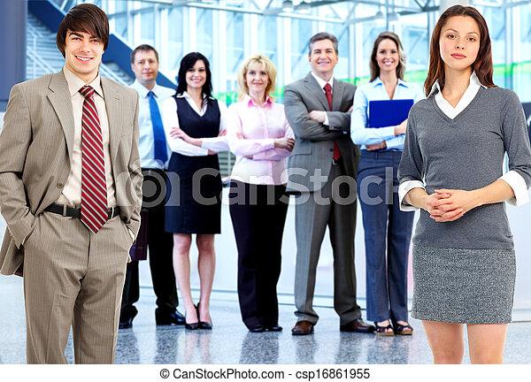 人々。, グループ, ビジネス - csp16861955
