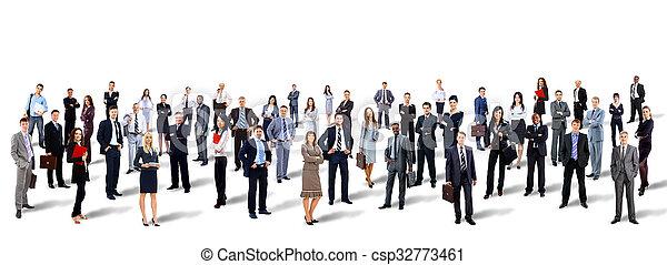 人々。, グループ, ビジネス - csp32773461