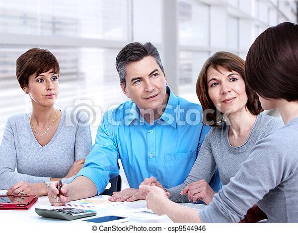 人々。, グループ, ビジネス - csp9544946