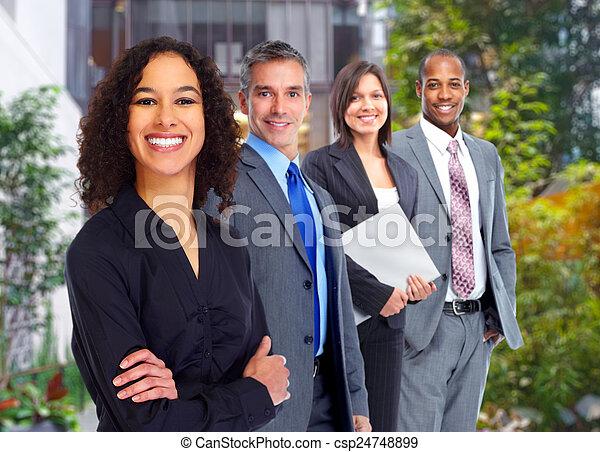 人々。, グループ, ビジネス - csp24748899
