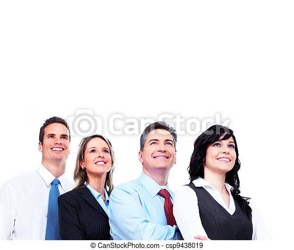 人々。, グループ, ビジネス - csp9438019