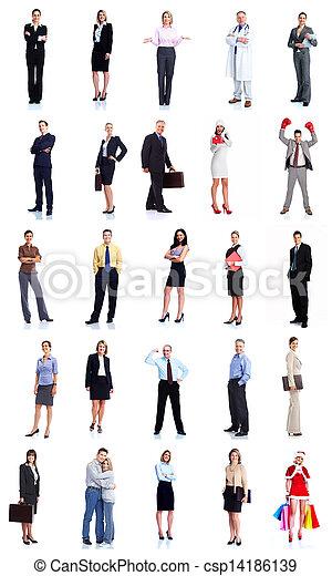 人々。, グループ, ビジネス - csp14186139