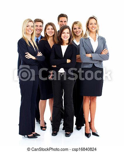 人々。, グループ, ビジネス - csp16840824