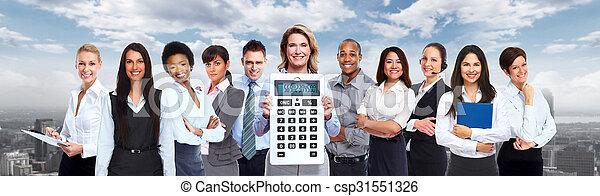 人々。, グループ, ビジネス - csp31551326