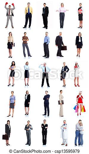 人々。, グループ, ビジネス - csp13595979