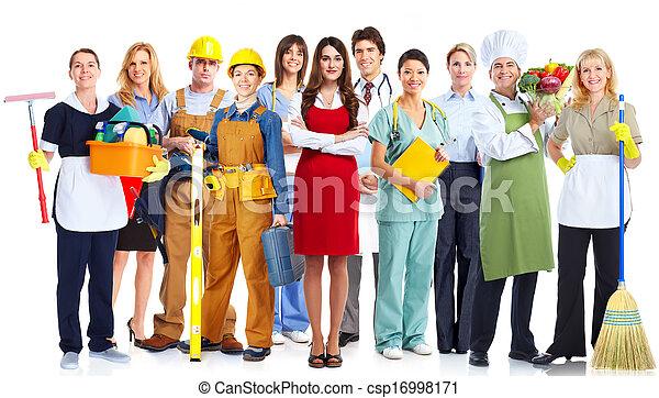 人々。, グループ, ビジネス - csp16998171